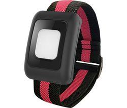 Alarm Bracelet - Red & Black