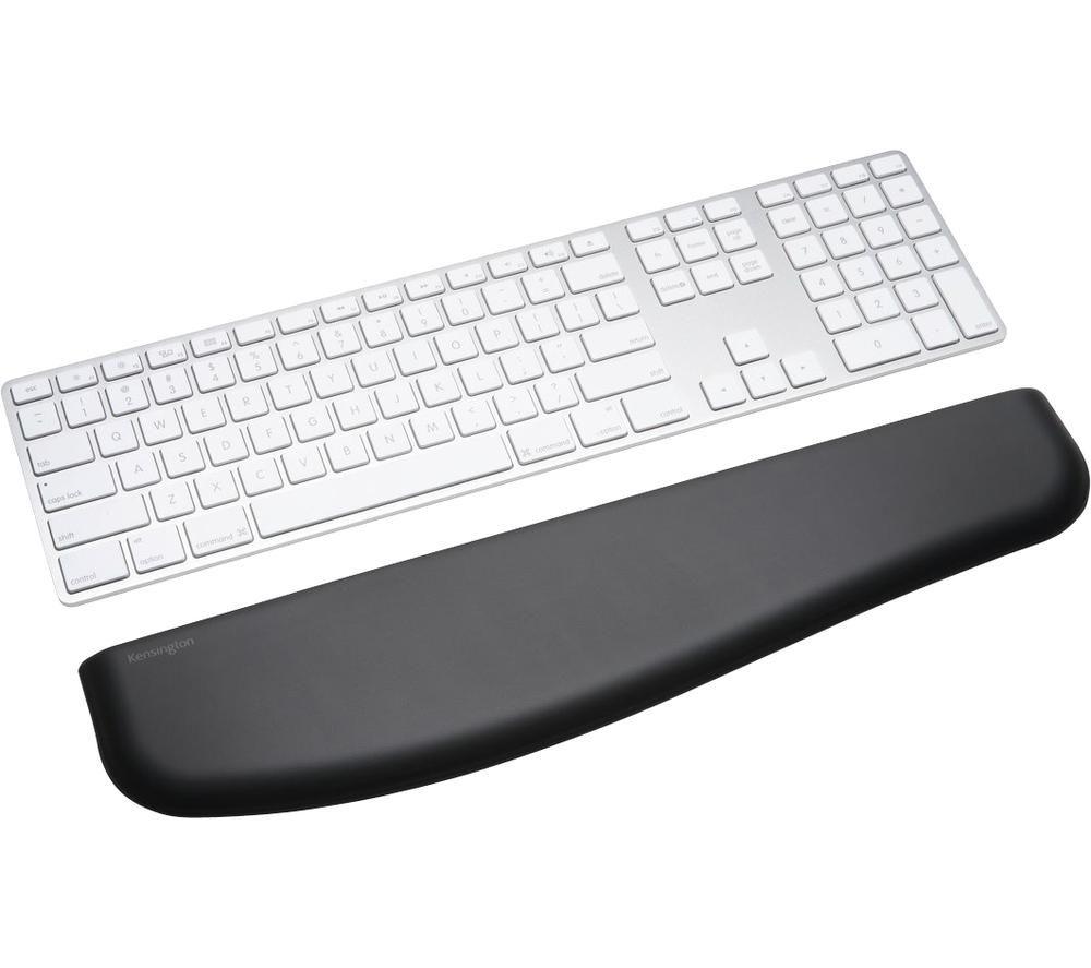 Image of KENSINGTON ErgoSoft Slim Keyboard Wrist Rest - Black, Black
