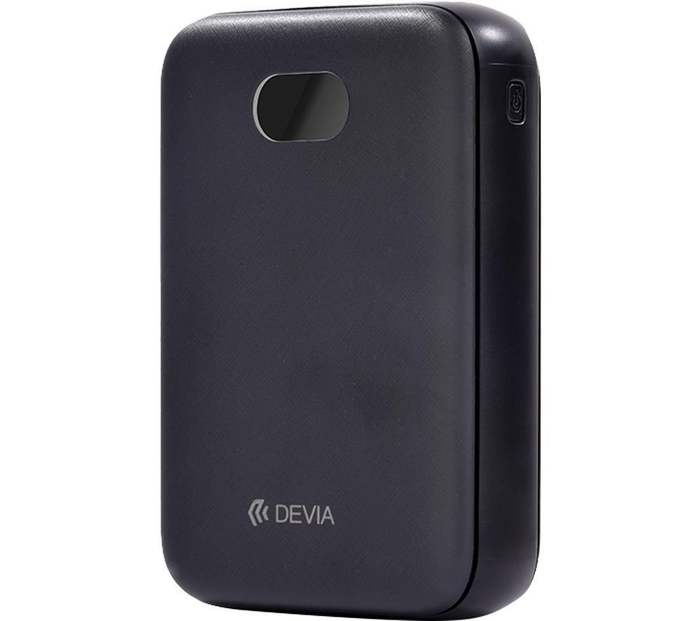 DEVIA DEV-DIGITAL-POW10-BLK Portable Power Bank - Black