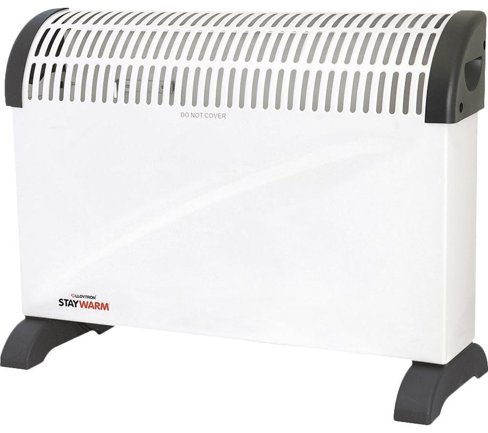 LLOYTRON StayWarm F2403WH Convector Heater - White, White