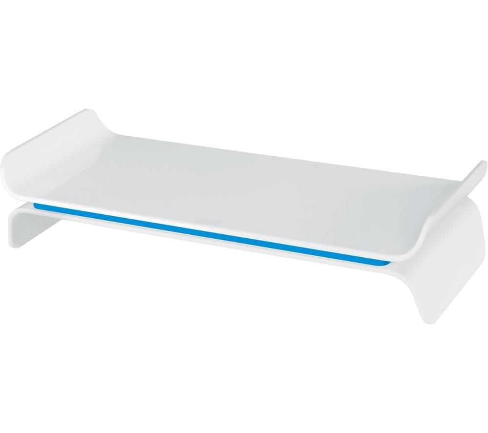 LEITZ Ergo WOW Monitor Stand - Blue & White