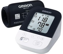 M4 Intelli HEM-7155T-EBK Smart Upper Arm Blood Pressure Monitor
