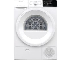 Essential DHGE901 9 kg Heat Pump Tumble Dryer - White