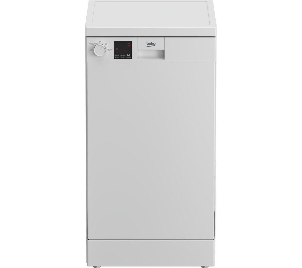 BEKO DVS04020W Slimline Dishwasher - White, White