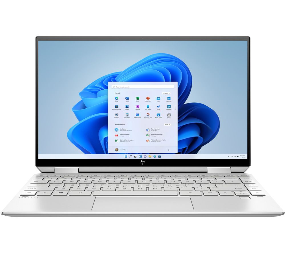 "Image of HP Spectre x360 13.3"" 2 in 1 Laptop - Intel®Core™ i7, 1 TB SSD, Silver, Silver"