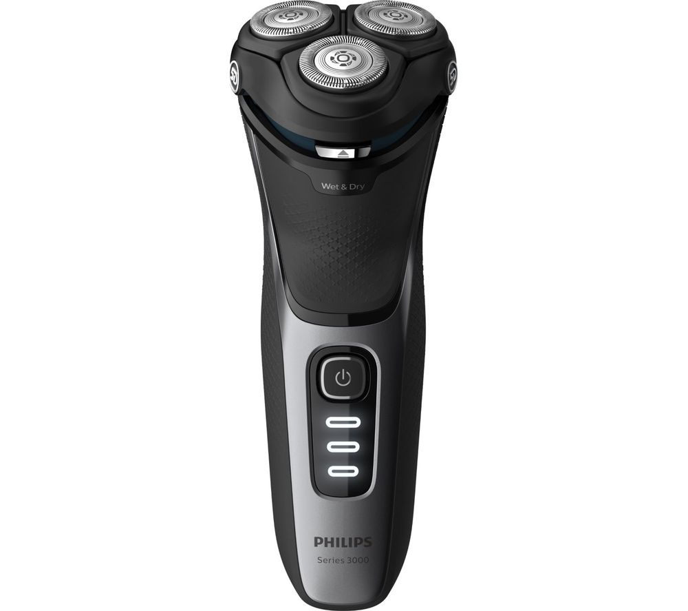 PHILIPS Series 3000 S3231/52 Wet & Dry Rotary Shaver - Black