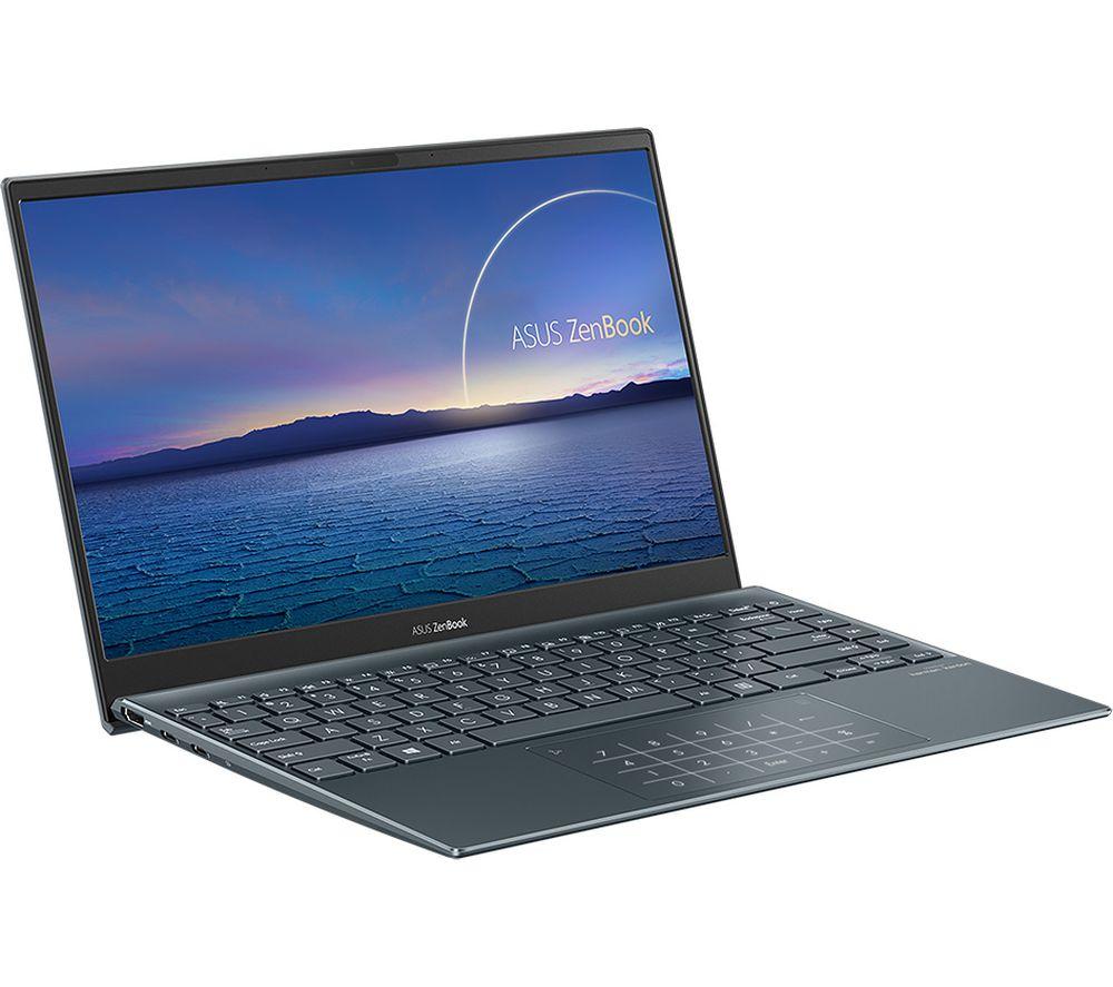 "Image of ASUS ZenBook 13 UX325JA 13.3"" Laptop - Intel®Core™ i7, 512 GB SSD, Grey, Grey"