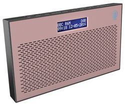 MAJORITY Histon II Portable DAB+/FM Radio - Pink