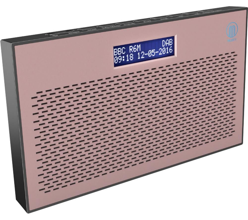Image of MAJORITY Histon II Portable DABﱓ Radio - Pink, Pink