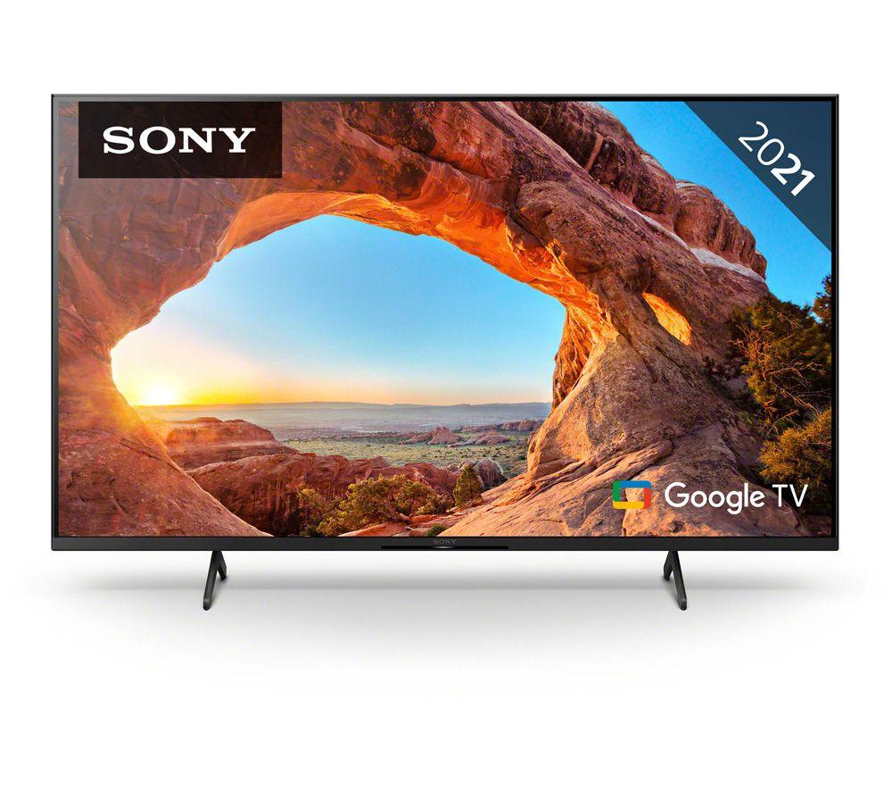 "SONY BRAVIA KD50X85JU 50"" Smart 4K Ultra HD HDR LED TV with Google TV & Assistant"