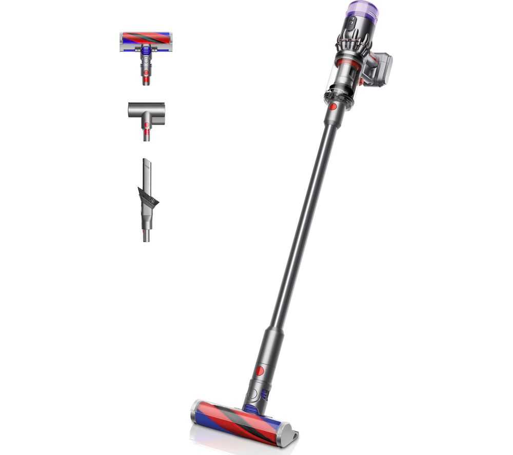 DYSON Micro 1.5 kg Cordless Vacuum Cleaner - Nickel & Red