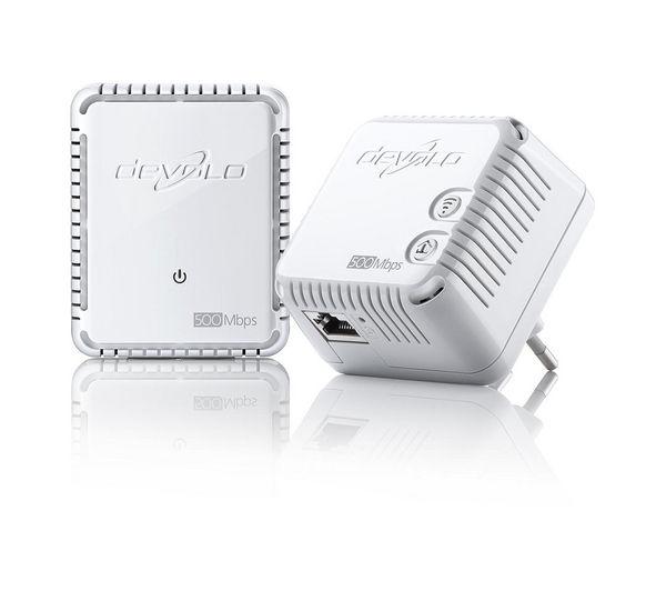 devolo dlan 500 wireless powerline adapter kit triple pack deals pc world. Black Bedroom Furniture Sets. Home Design Ideas