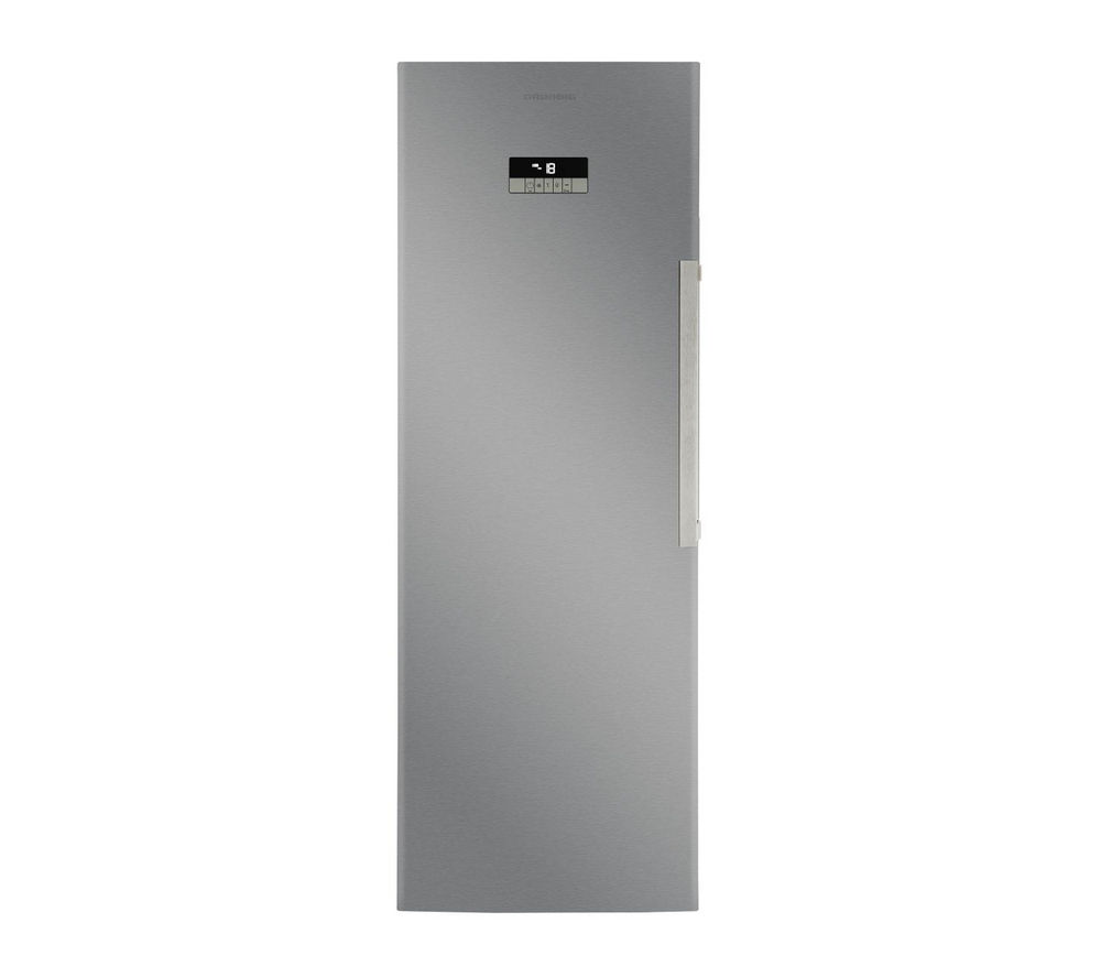 GRUNDIG GFN13820X Tall Freezer - Stainless Steel