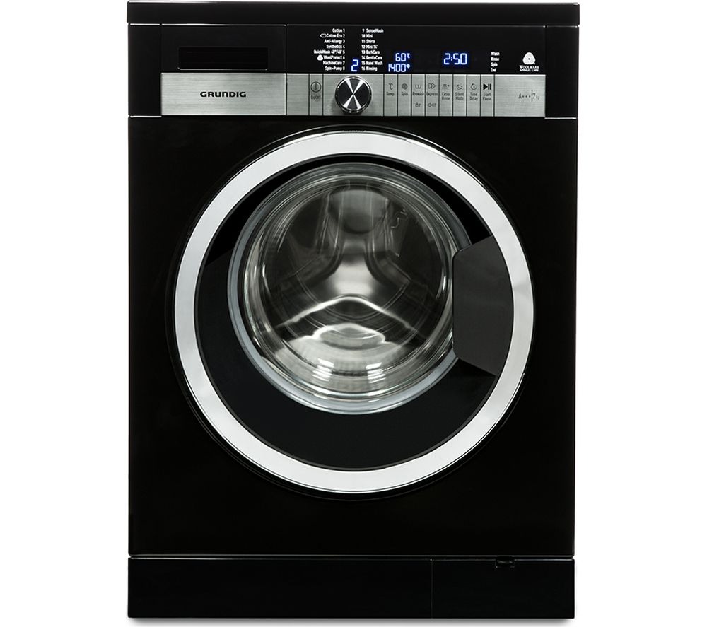 GRUNDIG GWN47430CB Washing Machine - Black