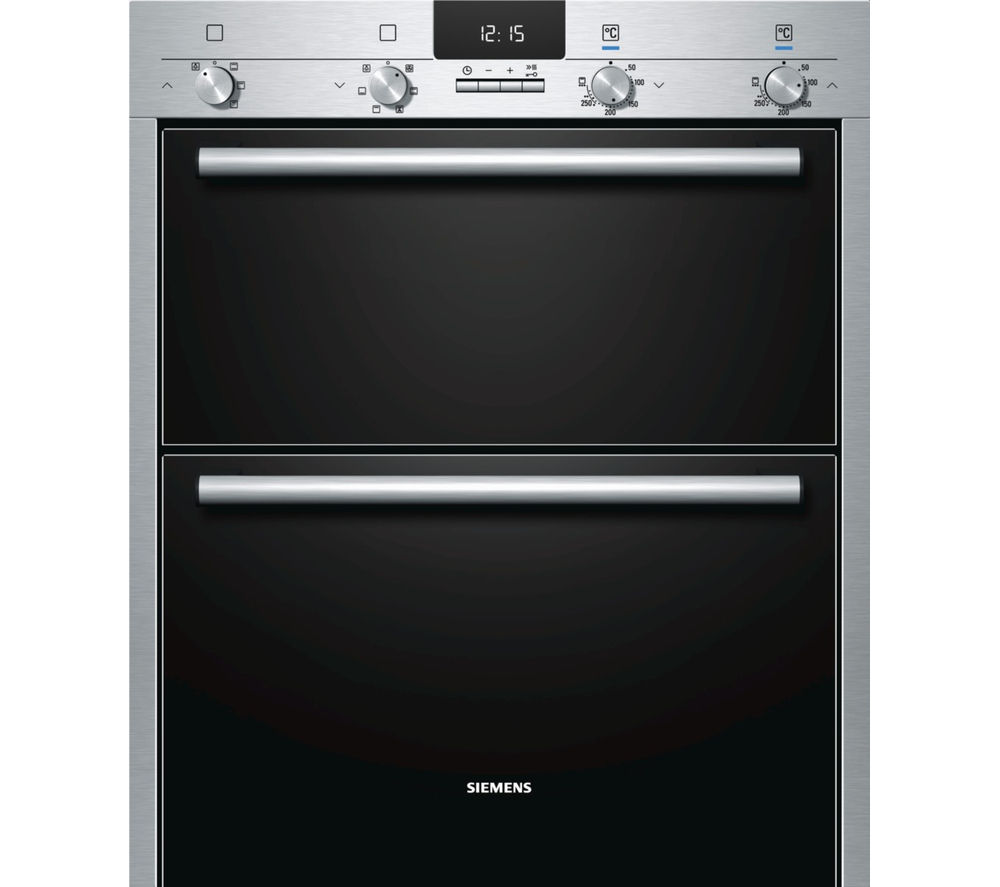 SIEMENS HB43NB520B Built-under Double Oven - Stainless Steel