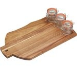 ARTESA Stylish Wooden Serving Set