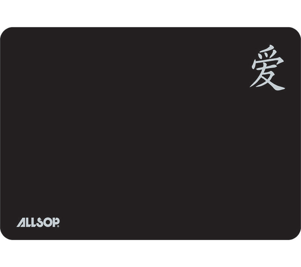 ALLSOP 06196 Screen Protector & Mousepad - Black