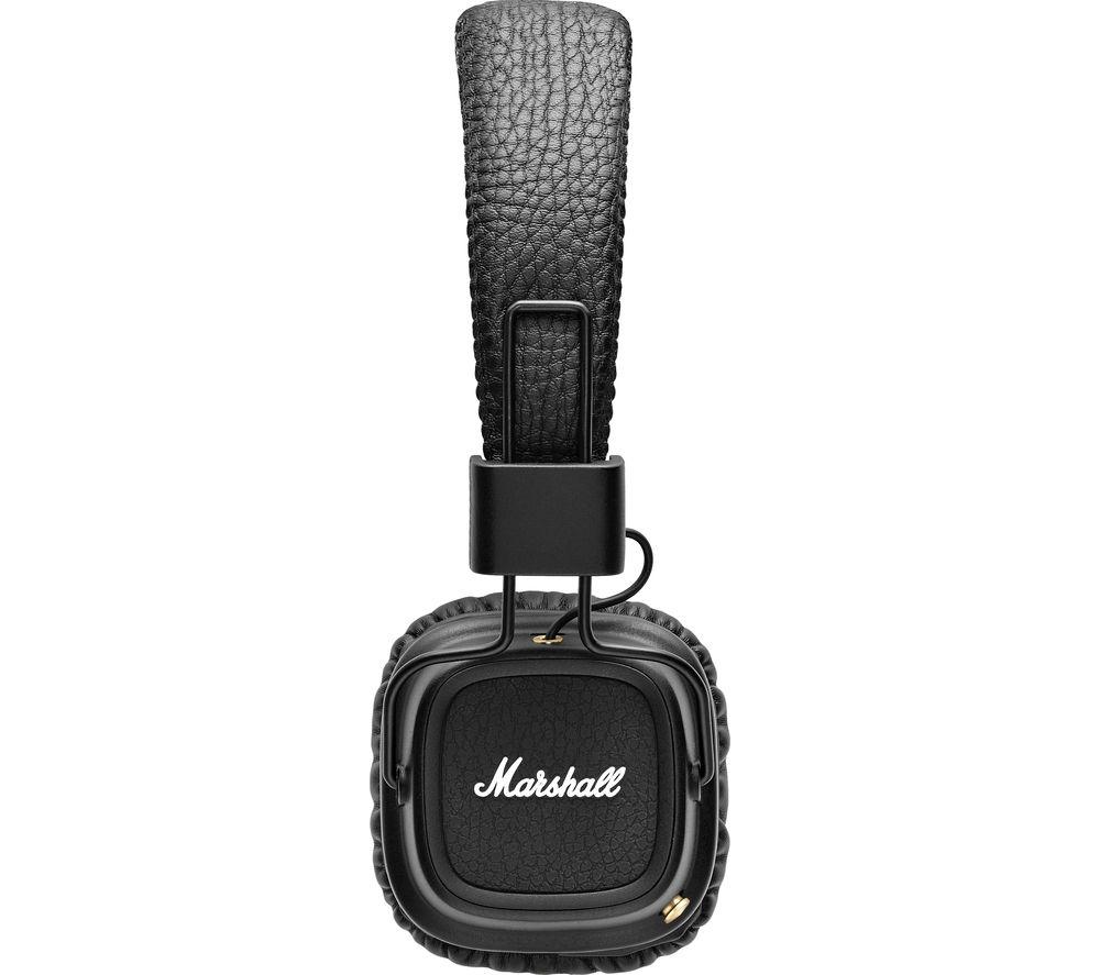 MARSHALL Major II Wireless Bluetooth Headphones - Black