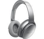 BOSE QuietComfort 35 Wireless Bluetooth Noise-Cancelling Headphones - Silver
