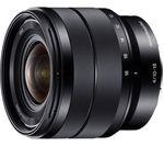 SONY E 10-18 mm f/4.0 OSS Wide-angle Zoom Lens