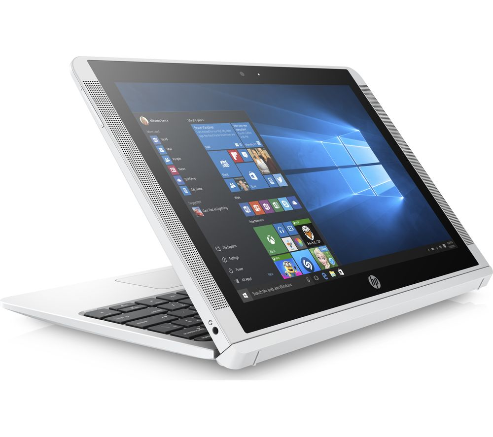 "HP x2 10-p058na 10.1"" Touchscreen 2 in 1 - White + Office 365 Home - 1 year for 5 users + LiveSafe Premium - 1 user / unlimited devices for 1 year"