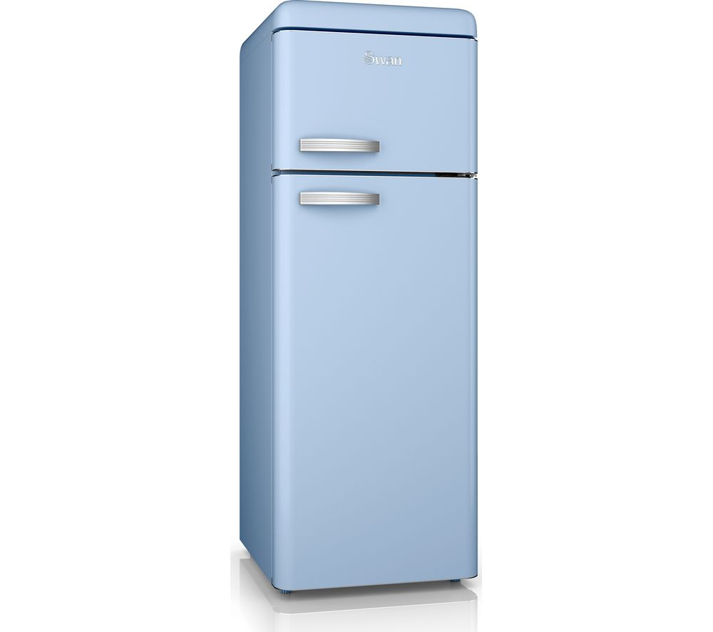 SWAN SR11010BLN 80/20 Fridge Freezer - Blue