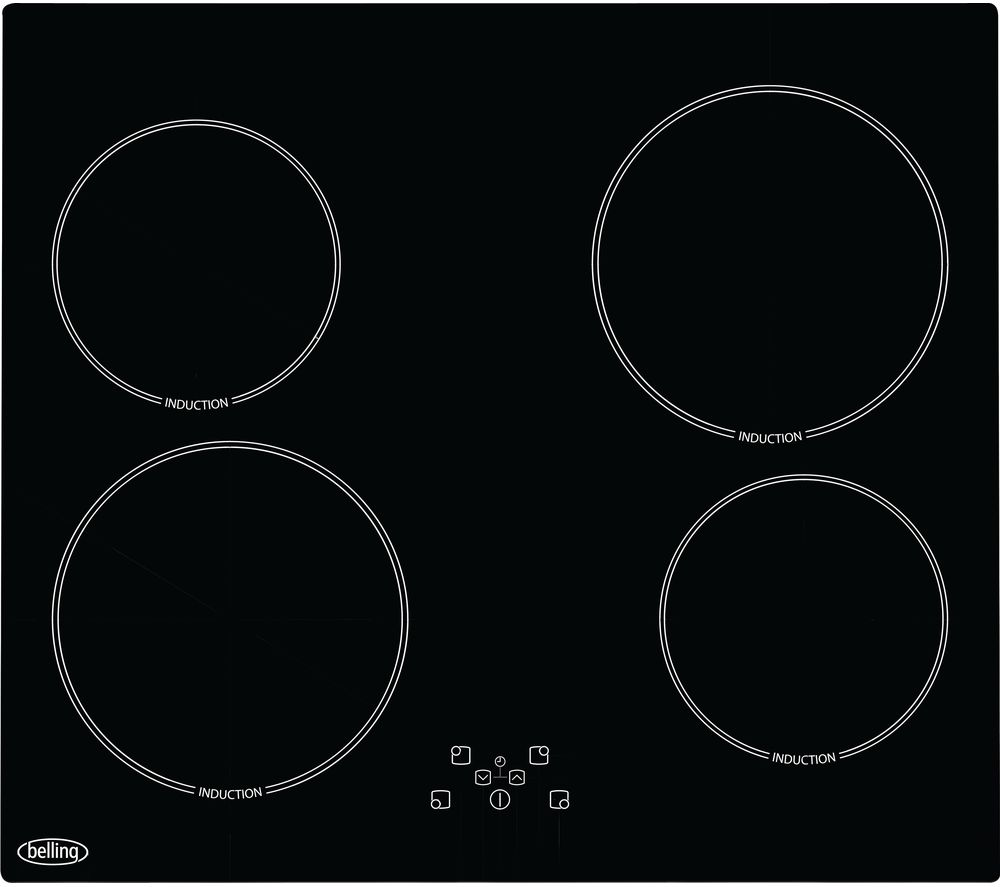 BELLING BEL IHT60 Electric Induction Hob - Black