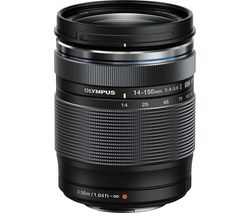 OLYMPUS M.ZUIKO DIGITAL ED 14–150 mm f/4.0–5.6 II Wide-angle Zoom Lens