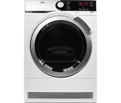 AEG SensiDry T7DEE835R Heat Pump Tumble Dryer - White