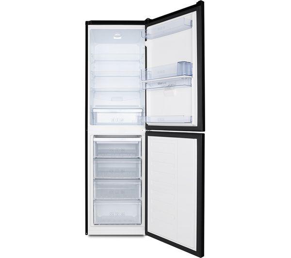 buy beko csg1582db 50 50 fridge freezer   black free delivery currys