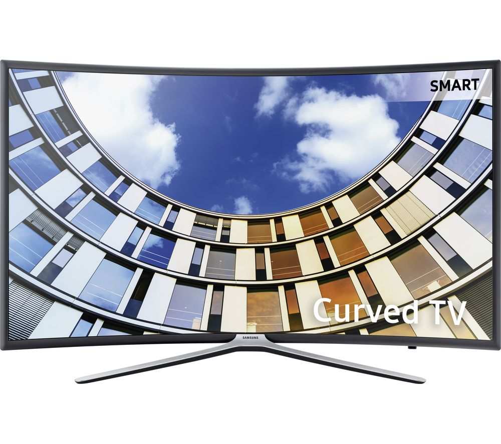 "SAMSUNG UE49M6300 49"" Smart Curved LED TV + S1HDM315 HDMI Cable with Ethernet - 1 m"