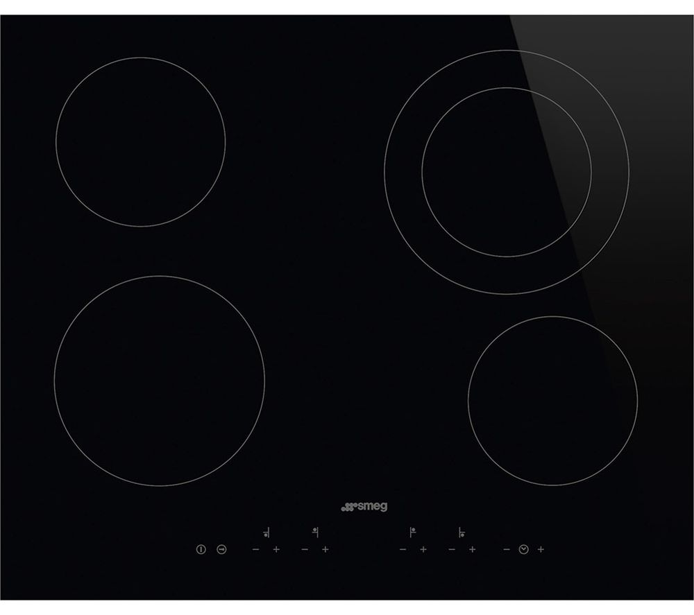 SMEG SE364ETD Electric Ceramic Hob - Black