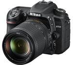 NIKON D7500 DSLR Camera with 18-140 mm f/3.5-5.6G ED VR Lens - Black