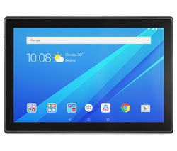 LENOVO Tab4 10 Tablet - 16 GB, Slate Black