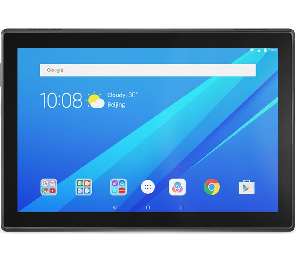 lenovo tab4 10 tablet 16 gb slate black deals pc world. Black Bedroom Furniture Sets. Home Design Ideas