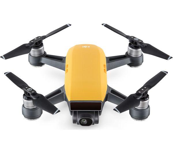 Image of DJI Spark Drone - Sunshine Yellow