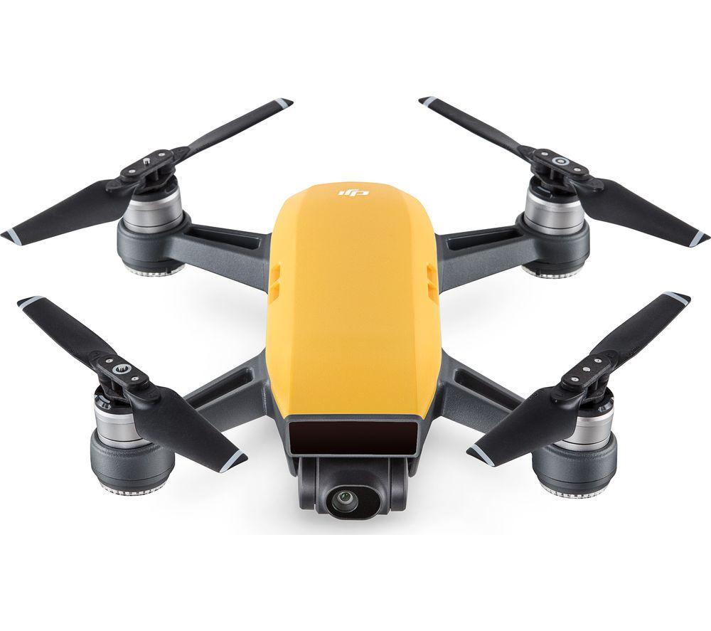 DJI Spark Drone - Sunshine Yellow + Spark Controller