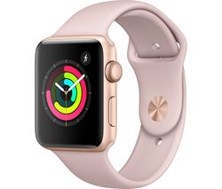 APPLE Watch Series 3 - Pink, 42 mm