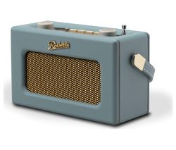 ROBERTS Revival Uno Retro Portable Clock Radio - Duck Egg