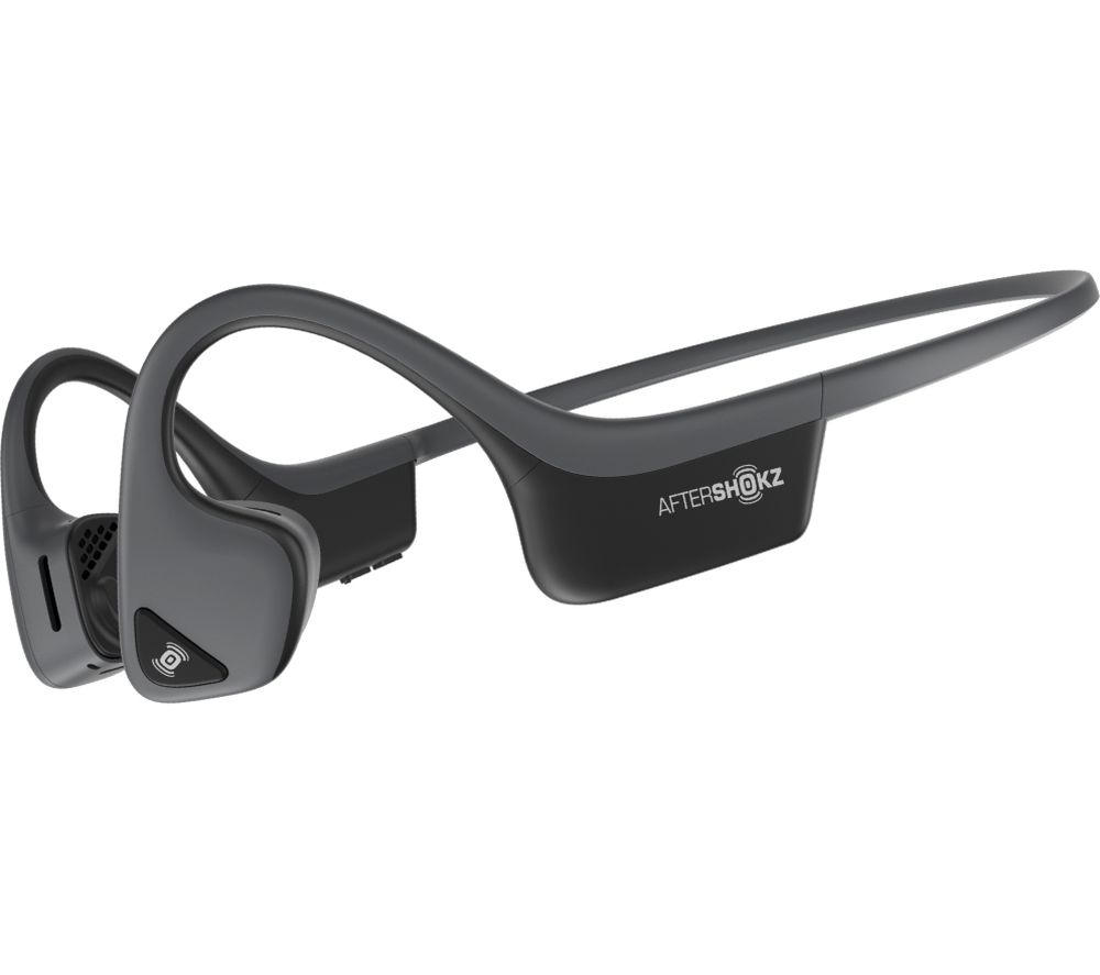 AFTERSHOKZ Trekz Air Wireless Bluetooth Sports Headphones - Slate Grey