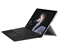 "MICROSOFT Surface Pro 12.3"" Touchscreen 2 in 1 & Typecover Bundle - Silver"