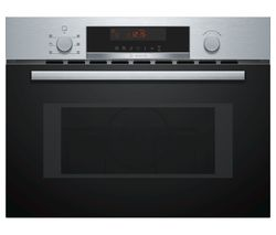 BOSCH Serie 4 CMA583MS0B Built-in Combination Microwave - Stainless Steel