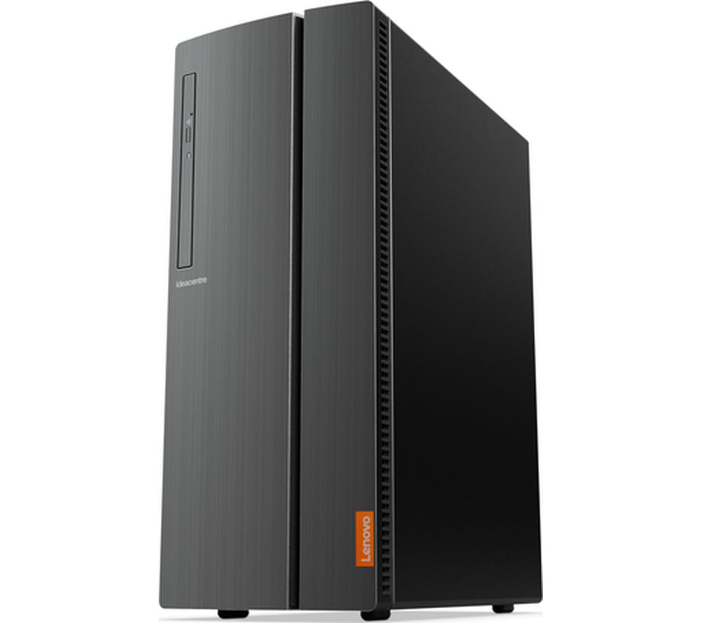 LENOVO IdeaCentre 510A-15ARR AMD Ryzen 5 Desktop PC - 1 TB HDD & 128 GB SSD, Black, Black
