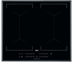 AEG IKE64450FB Electric Induction Hob - Black Best Price, Cheapest Prices
