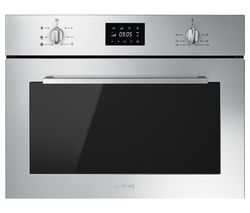 Cucina SF4400MCX Built-in Compact Combination Microwave - Stainless Steel