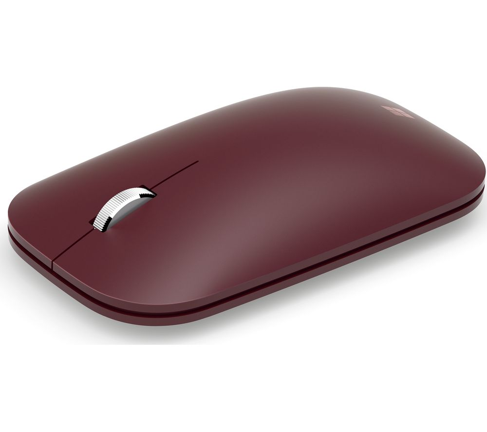 MICROSOFT Surface Mobile Wireless Mouse - Burgundy