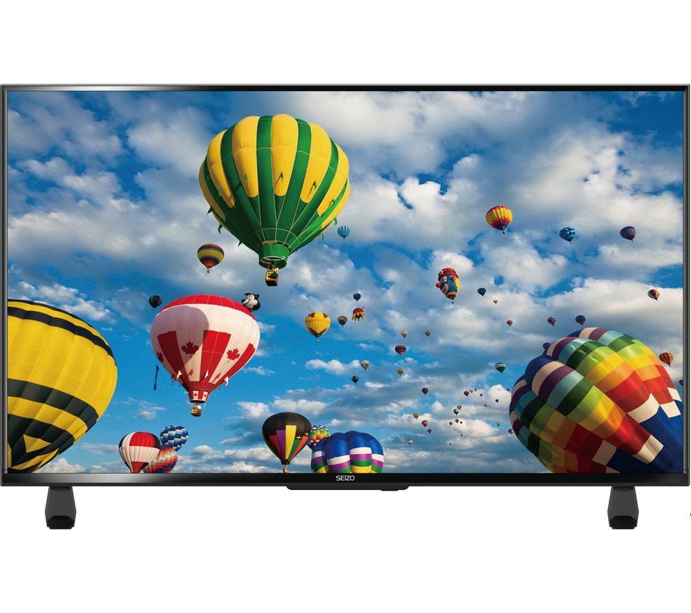 """40"""" SEIZO SE40FO10UK  LED TV, Gold"""