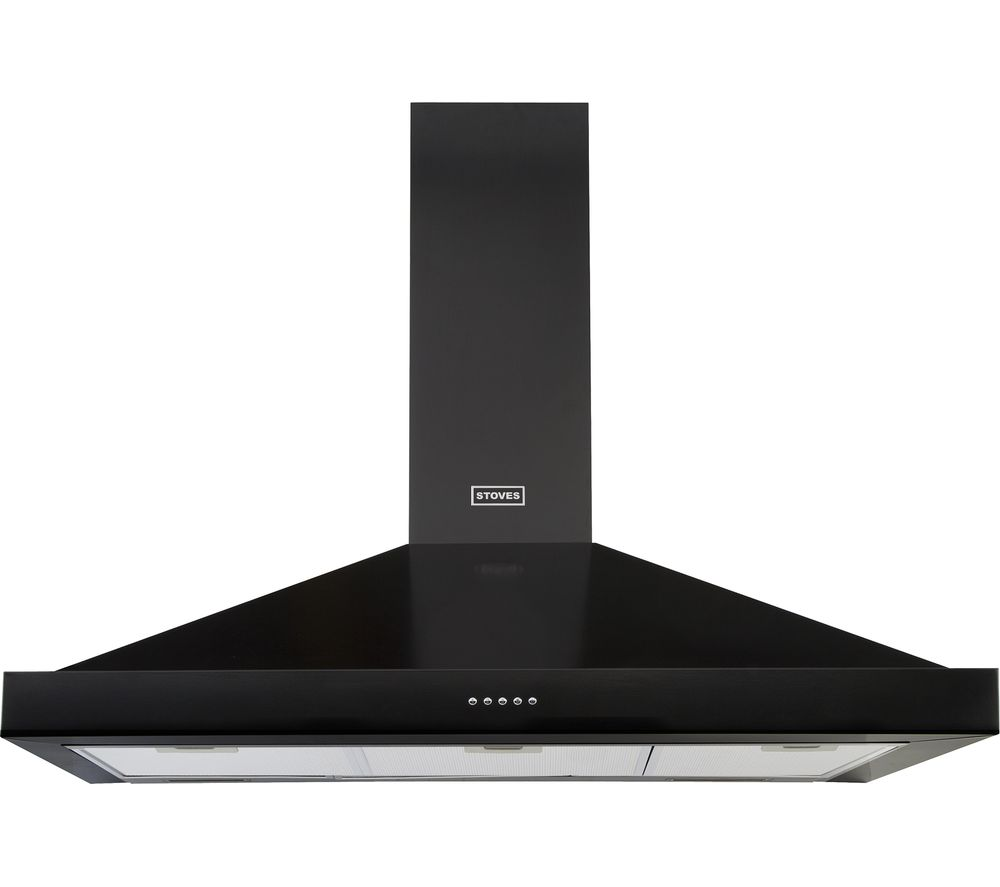 STOVES Sterling S1000 Chimney Cooker Hood - Black
