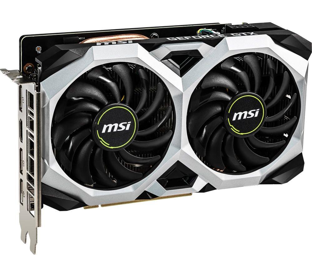 GeForce GTX 1660 6 GB VENTUS XS OC Graphics Card