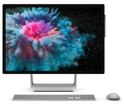"MICROSOFT Surface Studio 2 28"" Intel® Core™ i7 GTX 1070 All-in-One PC - 2 TB SSD, Silver"